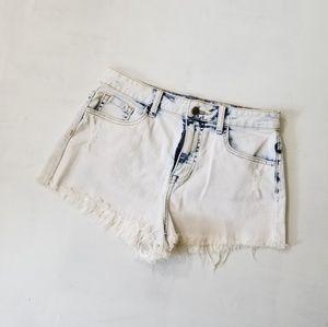 Forever 21 distressed denim cutoff shorts